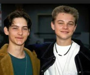 leonardo dicaprio, Tobey Maguire, and young image