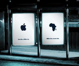 africa, apple, and sad image