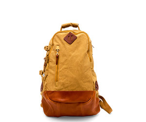 backpack, yellow, and mustrard image