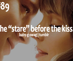 before, stare, and the kiss image