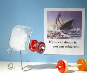 funny, ice, and titanic image
