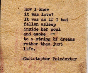 love, poem, and christopher poindexter image
