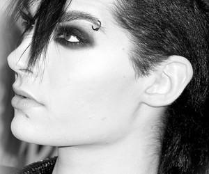 bill kaulitz, black, and Hot image