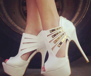 fashion, summer, and high heels image