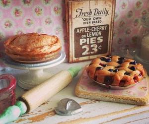 pastel, pie, and vintage image