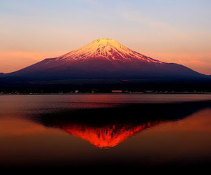 japan, mount fuji, and moutain image