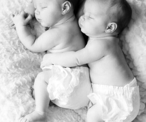 babies, twin, and baby image