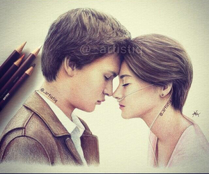 the fault in our stars, augustus, and hazel image
