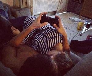 boyfriend, sleeping, and couple image