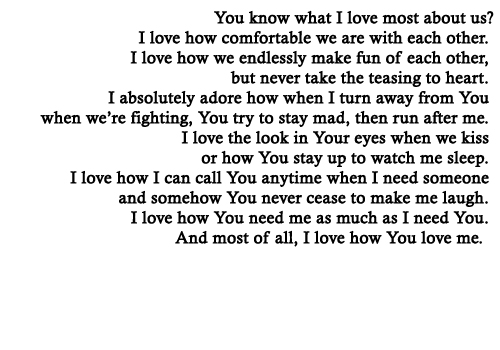 Image about love in quotes (: by bethany on We Heart It
