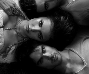 ian somerhalder, paul wesley, and elena gilbert image