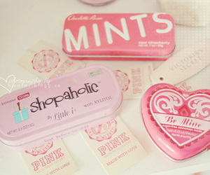 pink, mints, and cute image