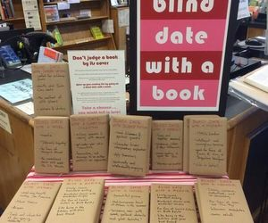 book, blind, and date image