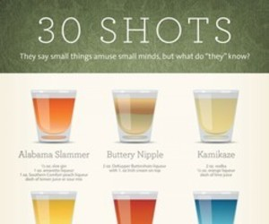shot, drink, and alcohol image