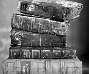 book, old, and black and white image