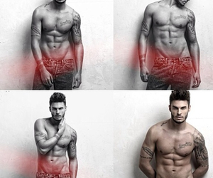 body, handsome, and model image