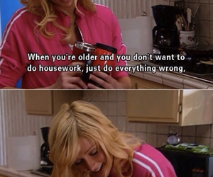 paris hilton, funny, and housework image