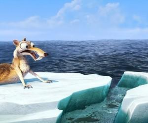cartoon, ice, and ice age image