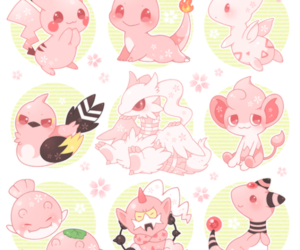 pokemon, pink, and cute image