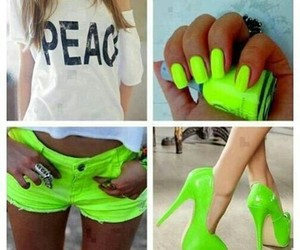 cool, fashion, and green image