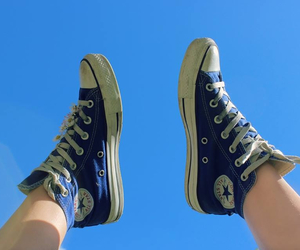 all star, converse, and summer image