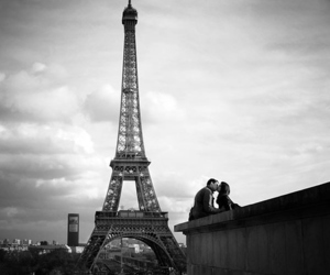 paris, love, and kiss image