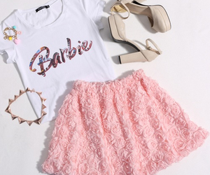 fashion, outfit, and barbie image