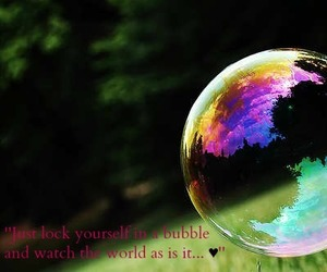 advice, bubble, and quotes image
