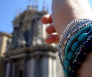 blue, bracelet, and jewelry image