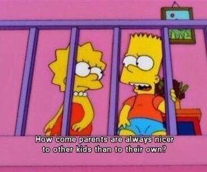 simpsons, parents, and the simpsons image