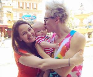 McFly, tom fletcher, and family image