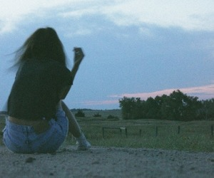 girl, alone, and hipster image
