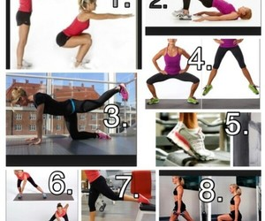 fitness, legs, and jump image