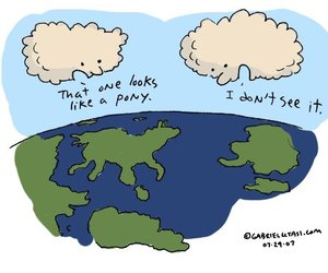 clouds, funny, and earth image