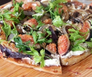 healthy, pizza, and recipe image