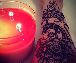 henna, my work, and night image