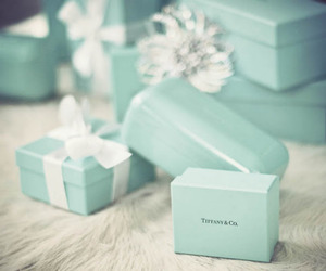 gift, present, and tiffany image