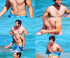 fit, Taylor Lautner, and handsome image