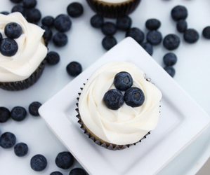 food, cupcakes, and sweet image