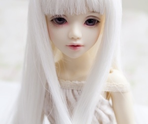 asian, ball jointed doll, and beautiful image