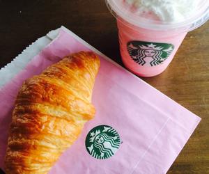 breakfast, food, and frappuccino image