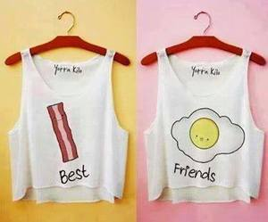 best friends and outfits image