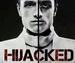mockingjay, peeta, and hijacked image