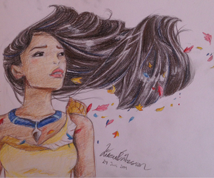 color, disney, and drawing image
