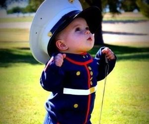 cute, baby, and marine image
