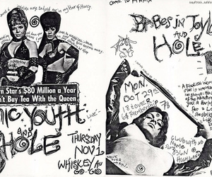 hole and sonic youth image