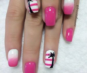 design, ombre, and nails image