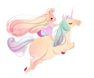 unicorn, drawing, and art image