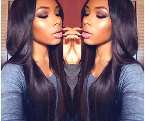 long, weave, and silky straight image