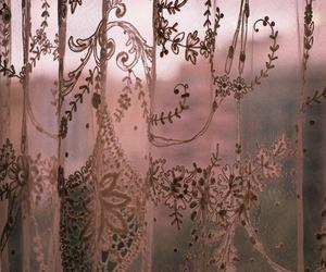 curtains, vintage, and indie image